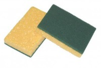 Spugna Cellulosa con fibra Abrasiva
