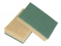 Spugna Tabacco con fibra Abrasiva