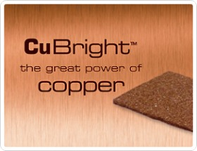 CuBright fibre copper